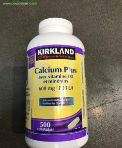 KIRKLAND_ Calcium Plus With Vitamin D3_Mieral